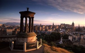 Edinburgh view of the city