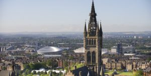Glasgow panoramic view